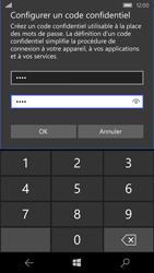 Microsoft Lumia 550 - Sécuriser votre mobile - Activer le code de verrouillage - Étape 10