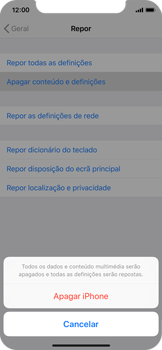 Apple iPhone XS - Repor definições - Como repor definições de fábrica do telemóvel -  7