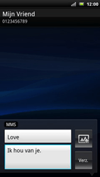 Sony Ericsson R800 Xperia Play - MMS - hoe te versturen - Stap 9
