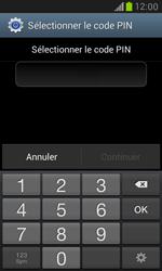 Samsung Galaxy S3 Mini - Sécuriser votre mobile - Activer le code de verrouillage - Étape 7