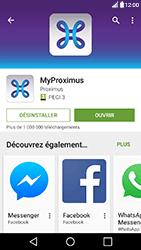 LG X Power - Applications - MyProximus - Étape 9