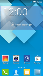 Alcatel OT-5036X Pop C5 - e-mail - hoe te versturen - stap 1