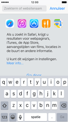 Apple iPhone 5s met iOS 9 (Model A1457) - Internet - Hoe te internetten - Stap 3