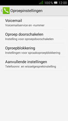 Alcatel One Touch POP D5 (OT-5038X) - Voicemail - Handmatig instellen - Stap 6