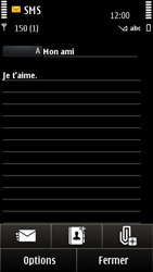 Nokia E7-00 - MMS - envoi d'images - Étape 7