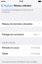 Apple iPhone 4S (iOS 8) - Internet et connexion - Partager votre connexion en Wi-Fi - Étape 4