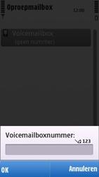 Nokia C6-00 - Voicemail - handmatig instellen - Stap 7