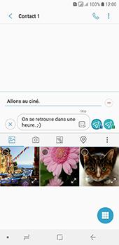 Samsung Galaxy A6 - MMS - envoi d'images - Étape 14