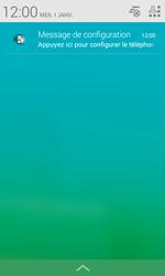 Alcatel Pop S3 (OT-5050X) - Paramètres - Reçus par SMS - Étape 7