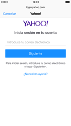 Apple iPhone 6s iOS 10 - E-mail - Configurar Yahoo! - Paso 6