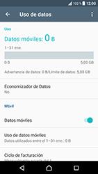 Sony Xperia XZ - Android Nougat - Internet - Activar o desactivar la conexión de datos - Paso 5