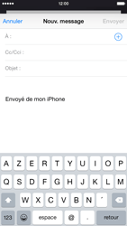 Apple iPhone 6 iOS 8 - E-mail - envoyer un e-mail - Étape 3