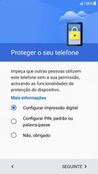 Samsung Galaxy S6 Edge - Android Nougat - Primeiros passos - Como ligar o telemóvel pela primeira vez -  9
