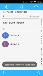 Alcatel OneTouch PIXI 3 (4.5) 3G (OT-4027X) - Contacten en data - Contacten overzetten via Bluetooth - Stap 11