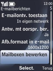 Nokia 6700 classic - E-mail - e-mail instellen: POP3 - Stap 6