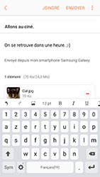 Samsung Galaxy A5 (2017) - E-mail - envoyer un e-mail - Étape 16