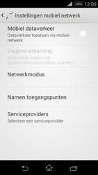 Sony Xperia E3 - Internet - aan- of uitzetten - Stap 8