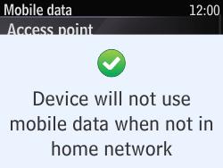 Nokia Asha 210 - Internet - Usage across the border - Step 8