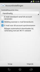 Sony C6903 Xperia Z1 - E-mail - Handmatig instellen - Stap 17
