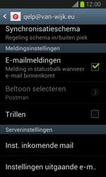 Samsung I9100 Galaxy S II - E-mail - Instellingen KPNMail controleren - Stap 9
