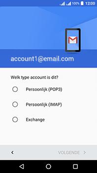 Acer Liquid Zest 4G Plus - E-mail - e-mail instellen: IMAP (aanbevolen) - Stap 11