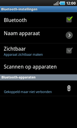 Samsung I9000 Galaxy S - Bluetooth - headset, carkit verbinding - Stap 9