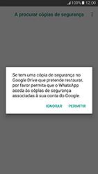 Samsung Galaxy A3 (2017) - Aplicações - Como configurar o WhatsApp -  13