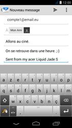 Acer Liquid Jade S - E-mail - envoyer un e-mail - Étape 8