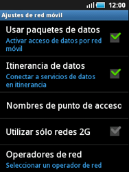 Samsung S5570 Galaxy Mini - Internet - Configurar Internet - Paso 6