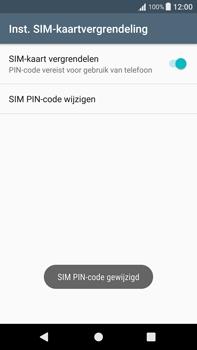 Sony Xperia XA1 Plus (G3421) - Beveiliging en ouderlijk toezicht - Hoe wijzig ik mijn SIM PIN-code - Stap 10