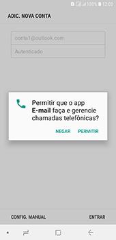 Samsung Galaxy J6 - Email - Como configurar seu celular para receber e enviar e-mails - Etapa 11