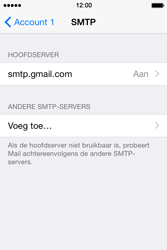 Apple iPhone 4s iOS 8 - E-mail - Account instellen (POP3 met SMTP-verificatie) - Stap 21