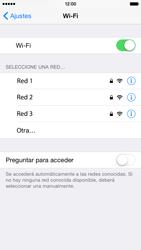 Apple iPhone 6 iOS 8 - WiFi - Conectarse a una red WiFi - Paso 5