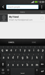 HTC Desire 500 - Email - Sending an email message - Step 6