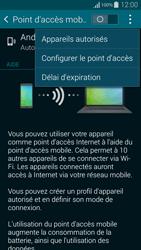Samsung Galaxy Alpha - Internet et connexion - Partager votre connexion en Wi-Fi - Étape 7