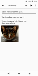 Sony xperia-xz2-compact-h8314 - E-mail - Bericht met attachment versturen - Stap 14