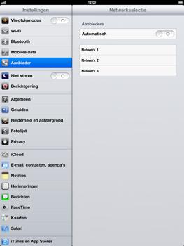 Apple iPad 4th generation - Netwerk - gebruik in het buitenland - Stap 8