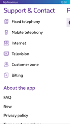 Nokia Lumia 830 - Applications - MyProximus - Step 22