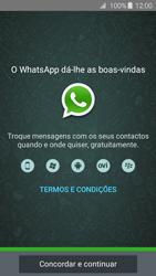 Samsung Galaxy A3 A310F 2016 - Aplicações - Como configurar o WhatsApp -  5