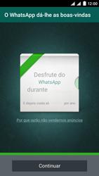 NOS SLIM - Aplicações - Como configurar o WhatsApp -  13