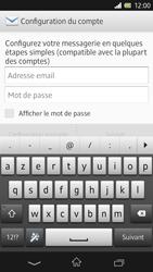 Sony C6603 Xperia Z - E-mail - Configuration manuelle - Étape 5