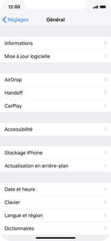 Apple iPhone XS - iOS 12 - Applications - Supprimer une application - Étape 4