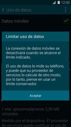 Samsung G900F Galaxy S5 - Internet - Ver uso de datos - Paso 9