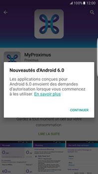Samsung Galaxy S6 edge+ - Android M - Applications - MyProximus - Étape 10