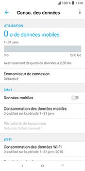 Alcatel 3L - Internet et connexion - Désactiver la connexion Internet - Étape 7
