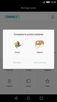Huawei GX8 - Mensajería - Escribir y enviar un mensaje multimedia - Paso 13