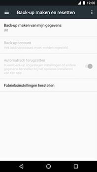 Android One GM5Plus DS - Toestel reset - terugzetten naar fabrieksinstellingen - Stap 5