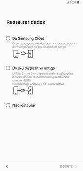 Samsung Galaxy Note 8 - Android Oreo - Primeiros passos - Como ligar o telemóvel pela primeira vez -  20