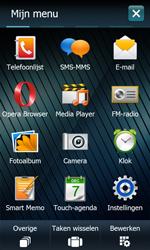 Samsung B7610 Omnia Qwerty - Voicemail - handmatig instellen - Stap 3
