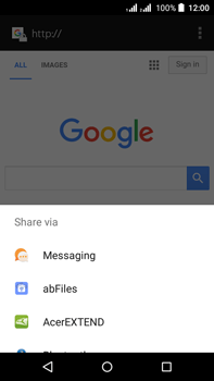 Acer Liquid Z630 - Internet - Internet browsing - Step 18